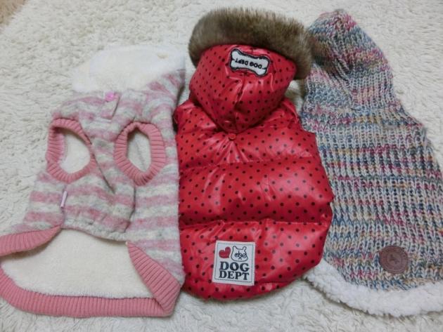 防寒機能のある服