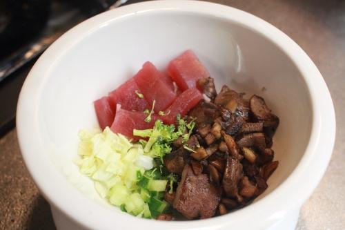 椎茸料理例