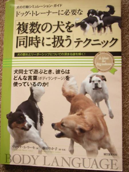 『ドッグトレーナーに必要な複数の犬を同時に扱うテクニック』ヴィベケ・S・リーセ著
