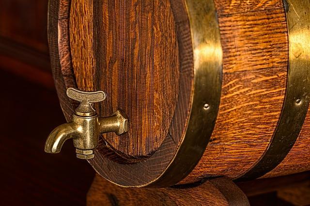 ビールの樽