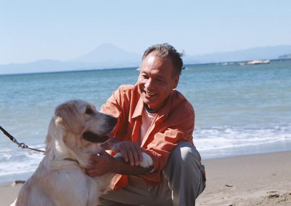 シニアと犬