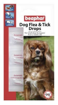 BEAPHAR小型犬、子犬用ノミ・ダニ退治薬