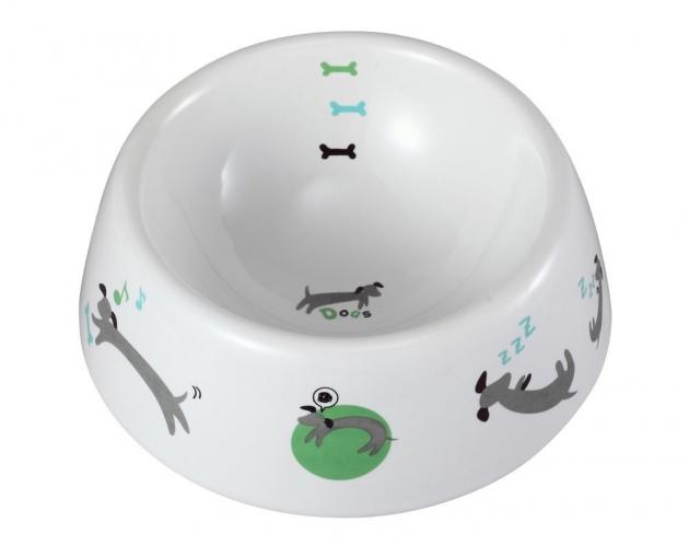 ##マルカン 犬用陶製食器わんこの1日 ##