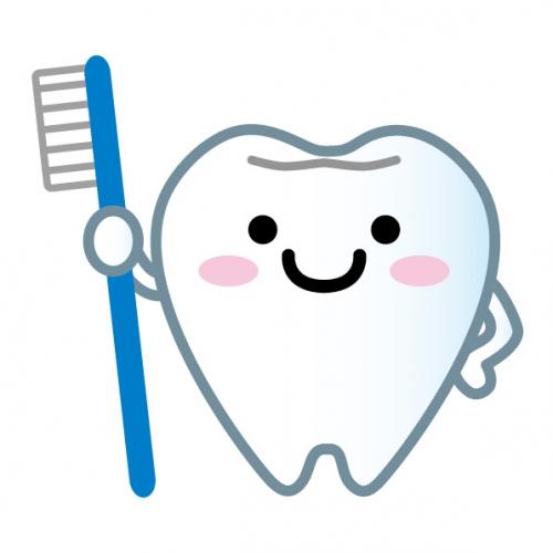 歯のマスコット