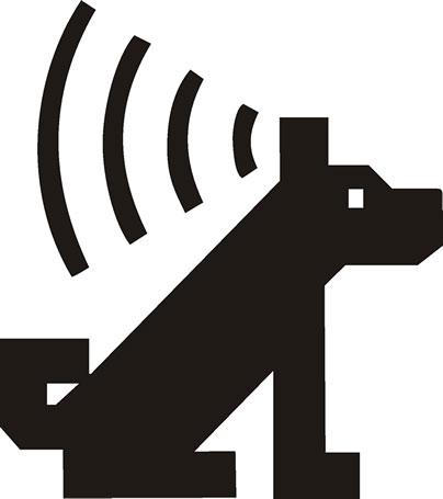 日本聴導犬協会のマーク