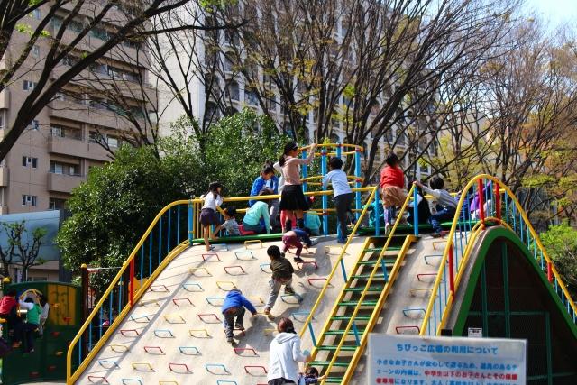 子供のいる公園
