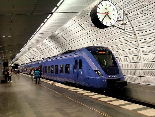 スウェーデンの電車