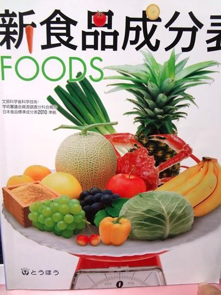 新食品成分表 本の表紙