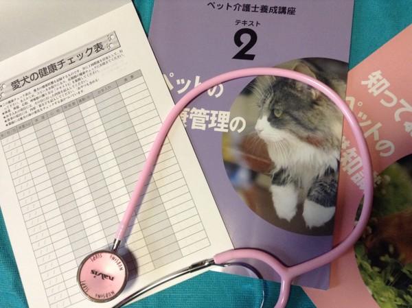 ペット介護勉強