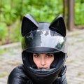 猫耳のヘルメットが登場!ロシア発