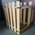 設計図不要の簡単DIY♪木で作る『猫のトイレサークル』