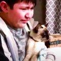 愛猫が行方不明になった少年…感動の再会シーンに涙