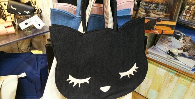 猫モチーフのトートバッグ!キディランド大阪梅田店「neko mart」のおすすめ商品