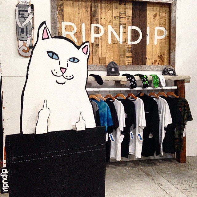 猫がアイコンの「RIPNDIP」とは?ブランドの紹介やおすすめ商品など