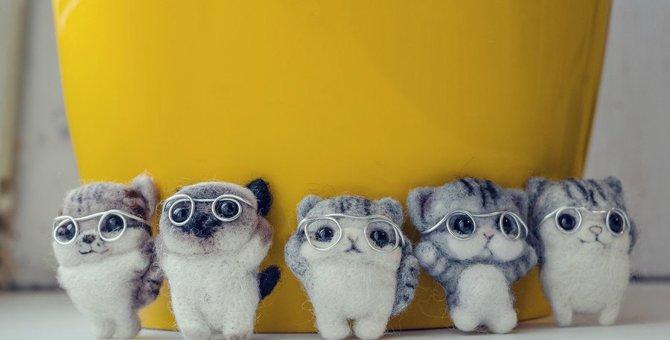 羊毛フェルトの猫をオーダーできるお店3選