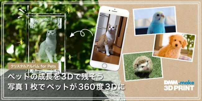 DMMより写真1枚でオリジナル猫グッズ!?