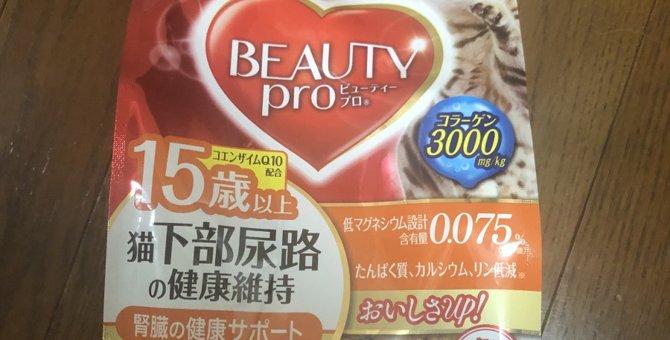 リピ買い決定!猫の毛並みがツヤツヤになる♡おすすめキャットフード「BEAUTY pro」
