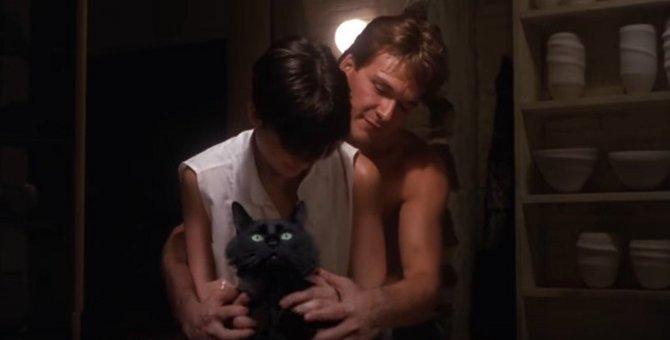 え、猫?!アウル・キティの「ゴースト」にデミ・ムーアもびっくり!