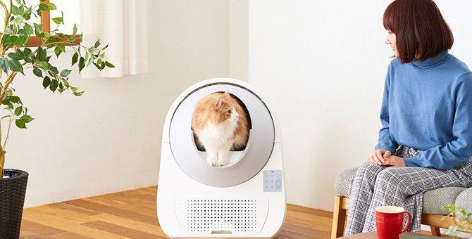 快適!スマホ対応の全自動猫トイレ『CAT LINK』がすごい!