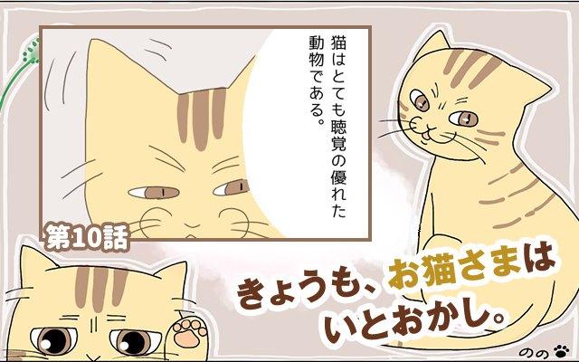 きょうも、お猫さまはいとをかし。【第10話】「心配ご無用」