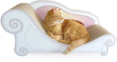 買って正解!愛猫がお気にいりの爪研ぎ「カリカリーナ」を試してみました