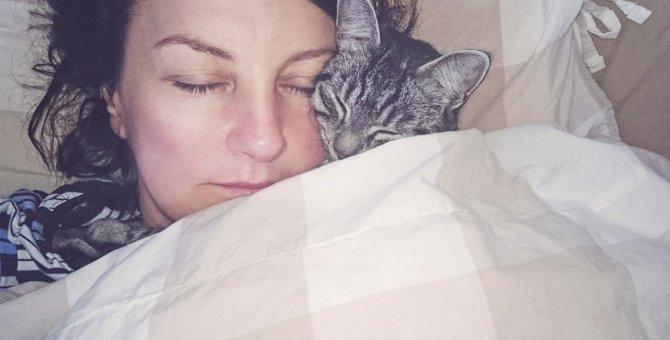 暑い夏に猫が一緒に寝たがるのはどうして?7つの心理