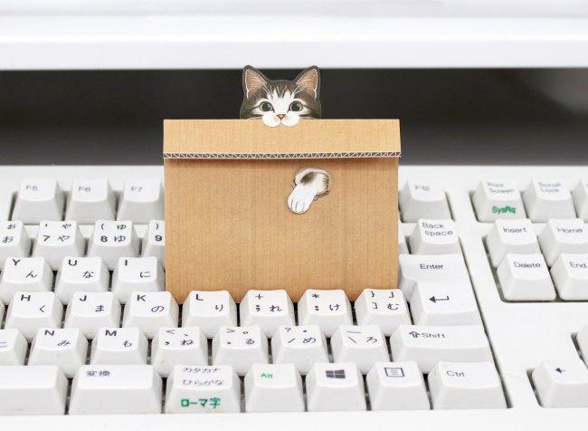 可愛い猫のメッセージメモが新発売!