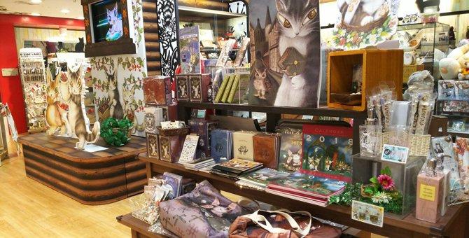 「猫のダヤン」と共にわちふぃーるどの世界へ!可愛いグッズも多数の「Dayan's Room」☆