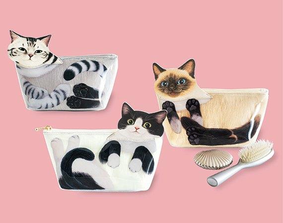 フェリシモ猫部の「猫は液体ポーチ」が面白い!