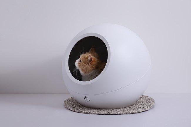 温度調整が出来るハイテクな猫ハウスが登場!「スマート・ペットハウス・コージー」に注目!