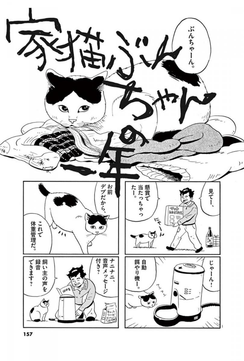 家猫ぶんちゃんの一年p1