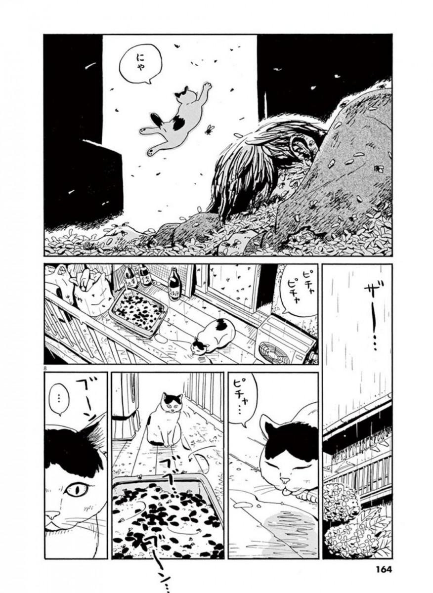 家猫ぶんちゃんの一年p8