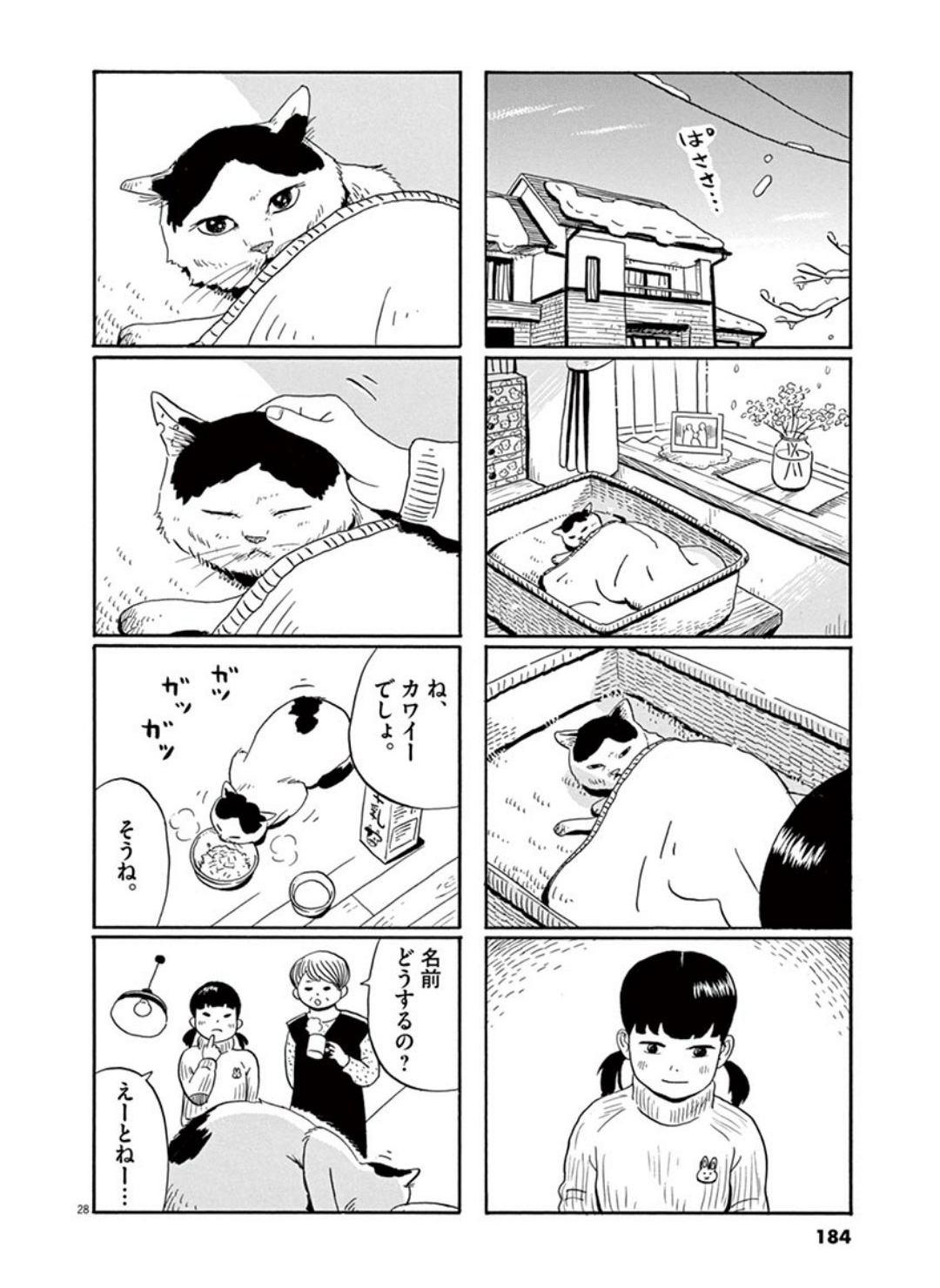 家猫ぶんちゃんの一年p28
