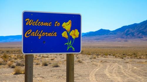 カリフォルニアの砂漠
