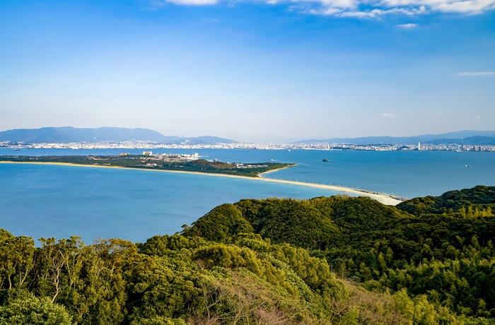 志賀島の海ノ中道