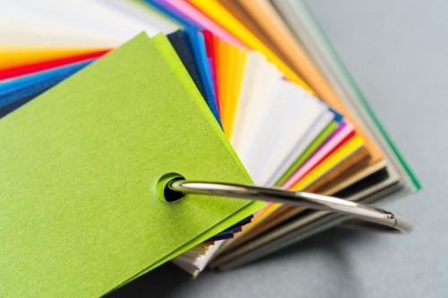 色見本のカード