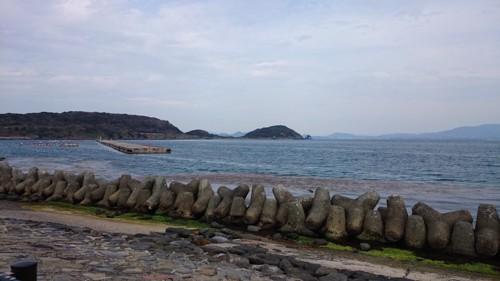 島から見る海