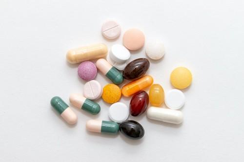 様々な種類の錠剤
