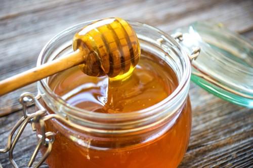 美味しそうな蜂蜜