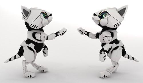 猫型のロボット