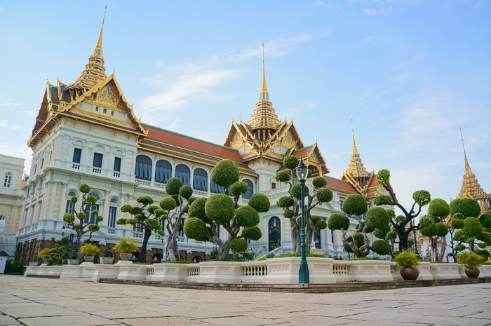 タイの宮殿