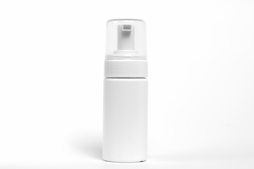 泡タイプの白いボトル