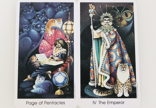 Pege of Pentacles The Emperor