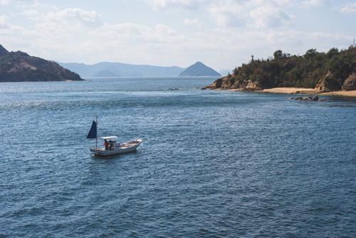 瀬戸内海の直島