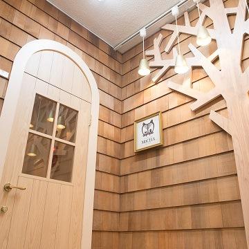 池袋の猫カフェMoCHA(モカ)の入口