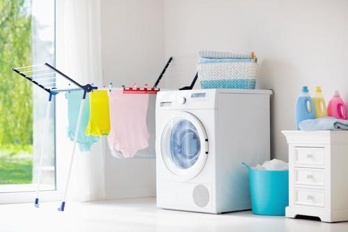 洗濯機と洗剤