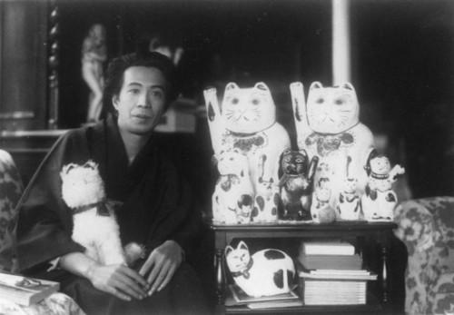 大佛次郎と人形の猫たち