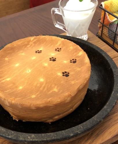 石焼パンケーキ写真