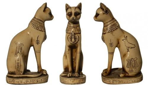 古代の猫の置物