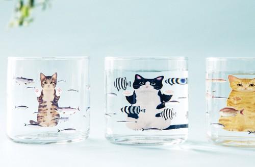 3種類のグラス